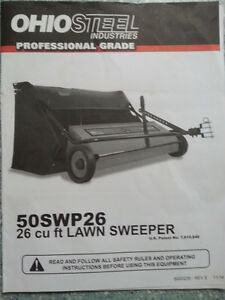 """50"""" Lawn Sweeper"""