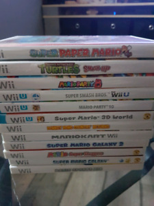 Wii game & controllers