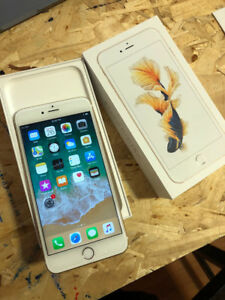 UNLOCKED Gold 16GB iPhone 6S Plus (A+ Condition) W/ Box & Extras