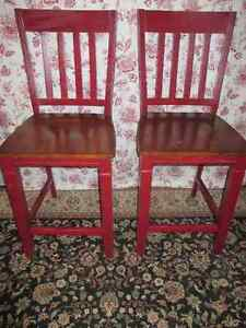 Counter Height Stools $100 for the Pair!