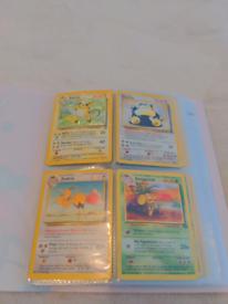 Pokemon cards 1999