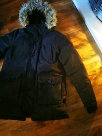 Men's firetrap hooded coat size medium