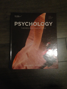 Psychology- Themes and variations
