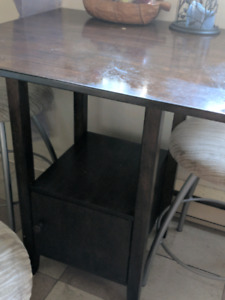 High Table with 3 FREE chairs