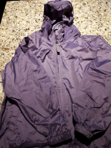 Girls size 8 raincoat / windbreaker