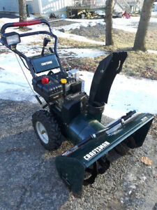 Snow Blower (like new) - $320 OBO
