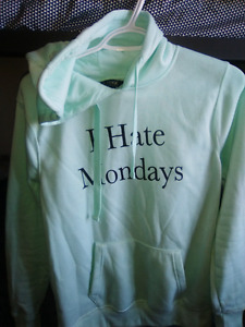 'I hate Monday's' Large Hoodie