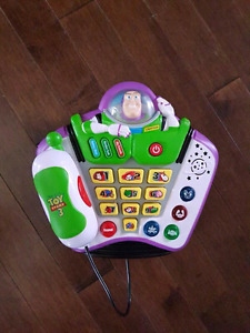 Toy story buzz lightyear toy phone