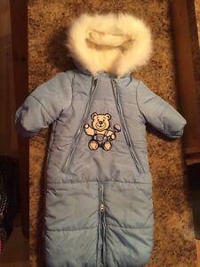 Manteau d hiver 6/12 mois