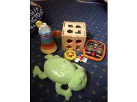 Children's toys all work