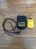 Dewalt 20v Compact XR Li-Ion battery + charger