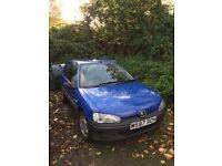 Peugeot 106 new MOT swap??