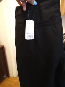 Men's brand new black pants size 30/30