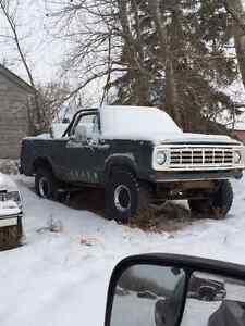1976 Dodge ramcharger  Convertible