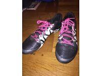 Size 8 adidas football boots