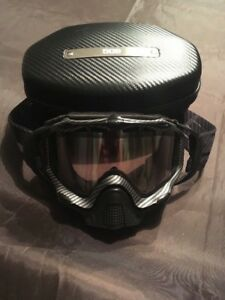 509 Carbon Fiber Photochromatic Snowmobile Goggles