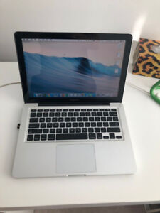 Macbook Pro (mid 2012) 13 inch  i5 + 4GB RAM + 500G SATA
