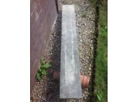 "Concrete lintel 57"" long £30 pick up blackhill"