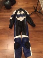 leather motorcycle one piece race suit costume en cuire 1 piece