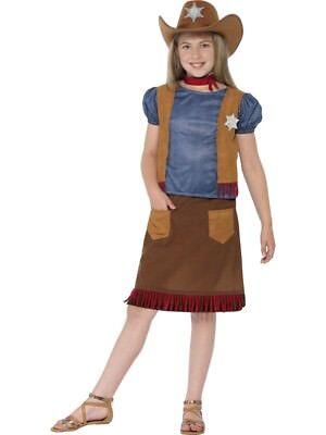 Western Belle Cowgirl Costume Smiffys Fancy Dress Costume