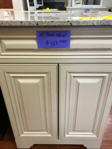 """Solid Wood 24"""" vanity cabinet on SALE now!!!"""