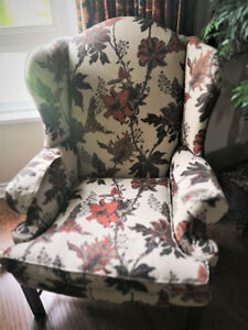 Sherrill Living Room Wing Chair 1517-1