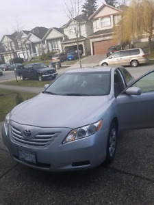 2007 TOYOTA CAMRY LE 4CYLINDER