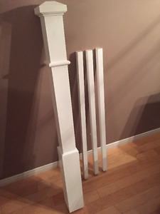 Brand New Newel Post