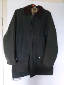 Cotton traders wax jacket