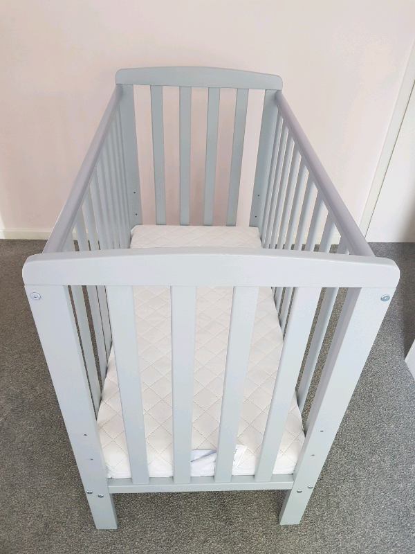 new product accd9 eb751 Rafferty Compact Cot - grey | in Norwich, Norfolk | Gumtree