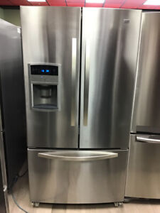 36 MAYTAG FRENCH DOOR BOTTOM FREEZER STAINLESS STEEL