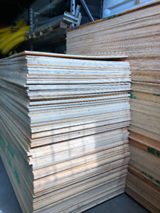 lumber plywood 3/8 in 1/2 in 5/8 in 4x8