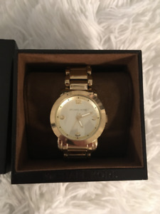 MK Gold Watch For Sale