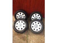 Vw lupo wheels 175/65R 13 original / standard Volkswagen lupo wheels and tyres