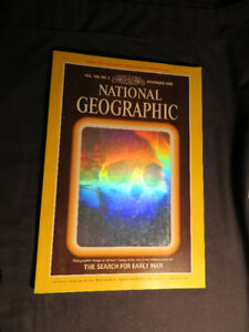 """the search for early man"" National Geographic November 1985"