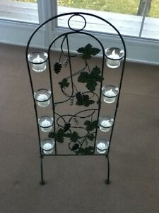 Grapes Stand with Tea light holders