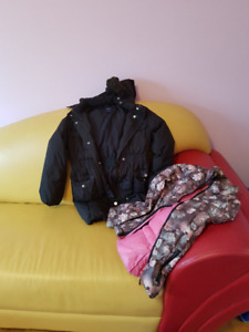 Winter jackets Huge garage sale for girls 10-13 years old