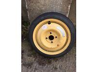 Honda Jazz Civic Space Saver Spare Wheel Tyre 4x100