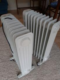 Mains plugin Oil Radiators