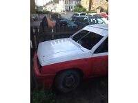 Vauxhall nova stock car hot rod banger