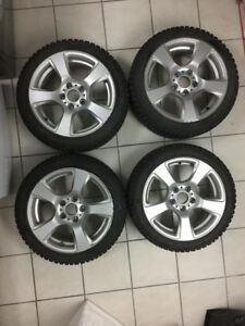 BMW wheels and winter tires NOKIAN   225 / 45 / R17 / 91T