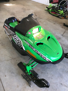2012 and 2014 Arctic Cat ZR 120's