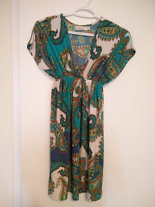 Colourful dress (only worn once)