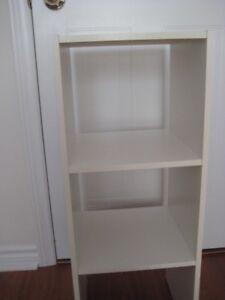 Closet Unit Shelving; (2 for 30.00)
