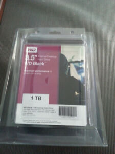 1TB WD Black HDD