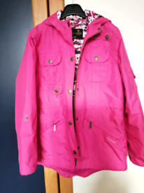 Barbour Hello Kitty kids waterproof padded jacket size M