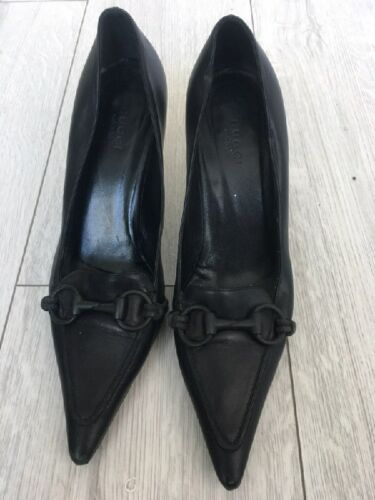 Vintage GUCCI SHOES Kitten Heels 37
