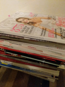 Bridal book+magazines