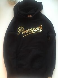 Pineapple gold and black hoody