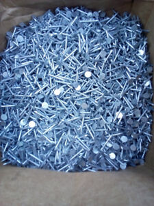 50 lbs box of roofing nails.